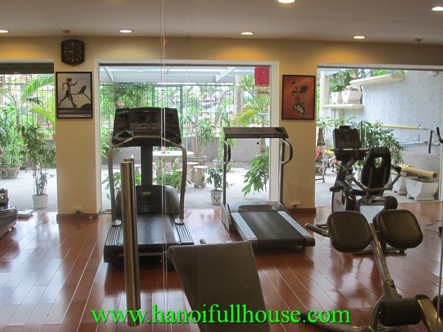 Professional Serviced Apartment with 3 Bedrooms, Gym, Car Park, West Lake View Balcony in Tay Ho dist