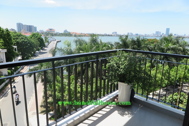 Brand new 03 bedrooms, high-class interior, Lake view to West Lake for rent