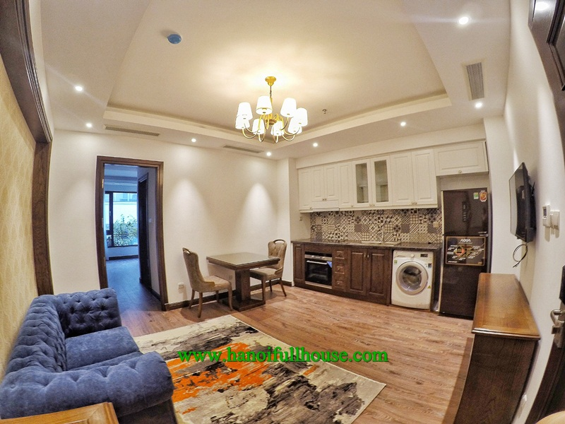 Luxury service apartment for Japanese on Lien Tri street, Hoan Kiem Dist for rent.