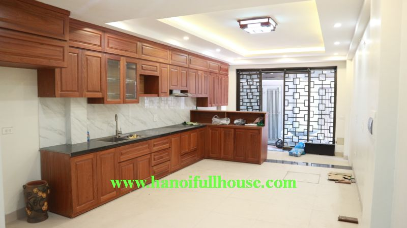 Closed 04 bedrooms house in Trinh Cong Son street, near West lake for rent