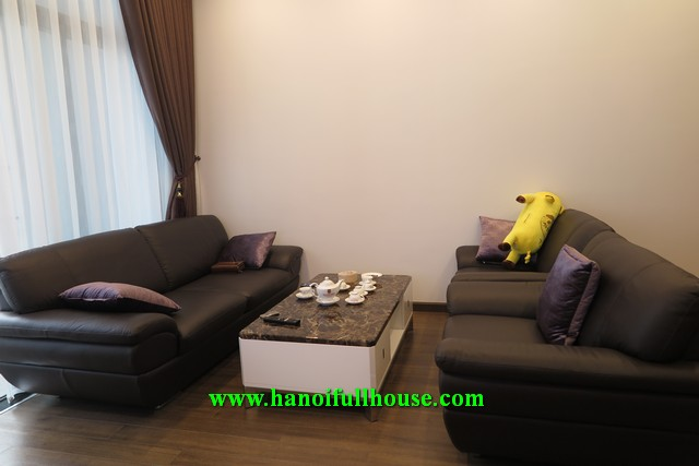 Super nice apartment in Sun Grand City Ancora Residence  - Number 3 Luong Yen street, 2 bedrooms for rent.