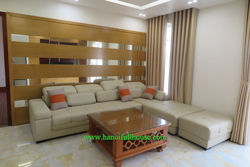 Luxury - large apartment, two bedrooms, nice balcony, good furniture in Tay Ho for rent