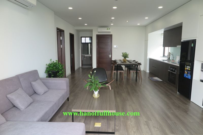 Serviced apartment in Tay Ho, Trinh Cong Son street - 2 bedrooms beautiful, quiet , lake view for rent now