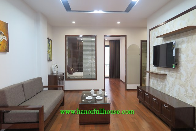 Nice one-bedroom apartment for rent in Linh Lang str, Ba Dinh dist