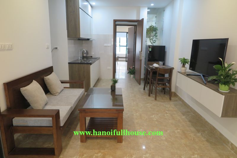 Nice apartment close to the Lake in Nhat Chieu street for rent now