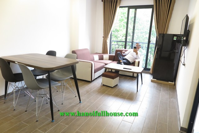 1 separate bedroom apartment on Trinh Cong Son street for rent now.