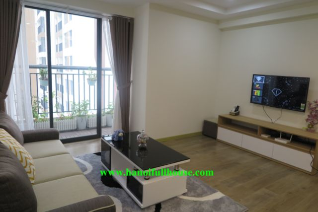 3 bedrooms apartment in Ecolife Tay Ho for rent, high floor, fully furnished