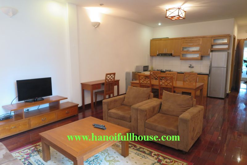 Cheap 02 bedrooms apartment in Quang An street