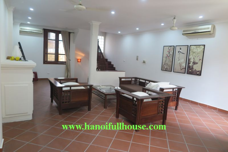 03 bedrooms house with french style, good furniture in To Ngoc Van street