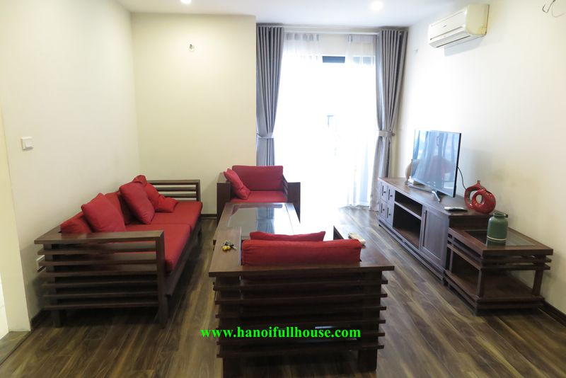 Tay Ho apartment with 2 beautiful and cheapest bedrooms, full of modern and high-class furniture