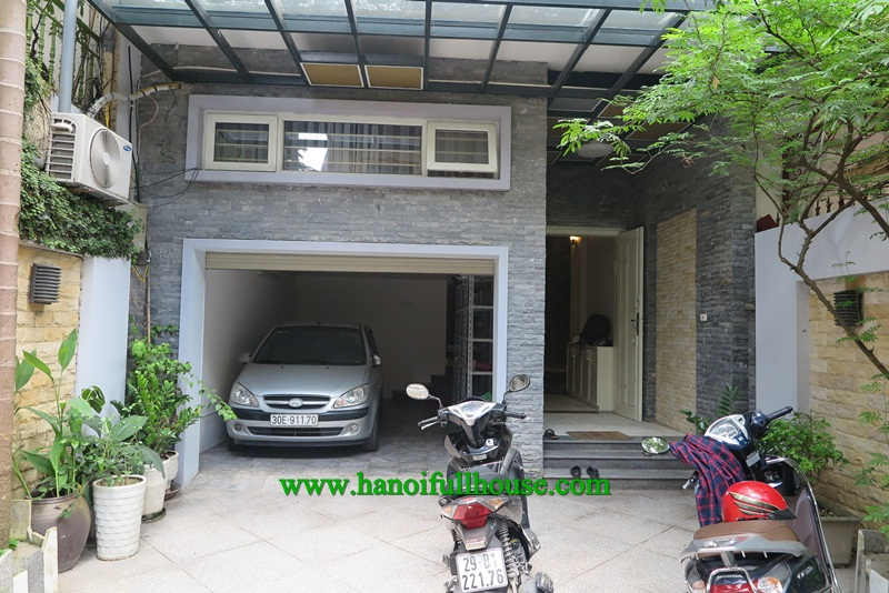 Beautiful house with yard, garden, balconies, garage for rent now