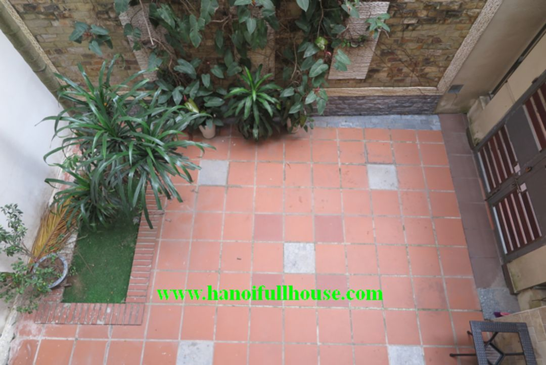 Large house in Trinh Cong Son street for rent, 4 bedrooms, small yard