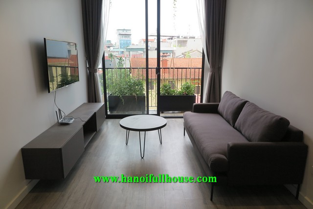 Nice apartment on Trinh Cong Son street, great decoration, 1 bedroom, furnished and equipped for rent.