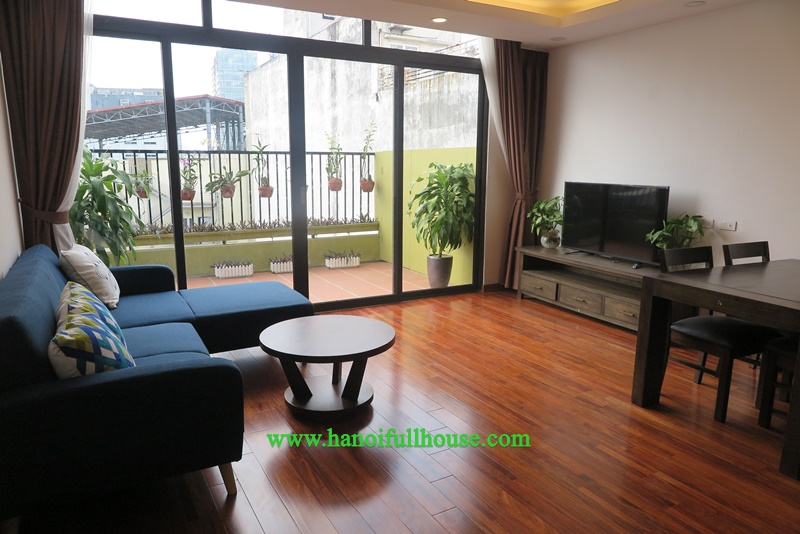 European style 2BR apartment in Hoan Kiem dist for rent