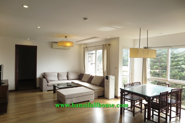 Nice apartment on Dang Thai Mai street has 2 bedrooms, 2 bathrooms, large balcony, good price.