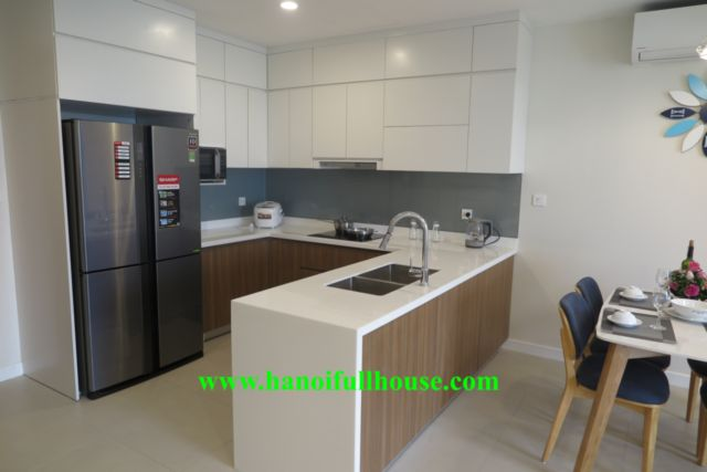 Kosmo Tay Ho apartment for rent, 2 bedrooms, fully furnished
