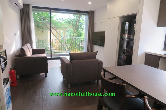 One bedroom apartment on To Ngoc Van street, large balcony, nice decoration for rent.