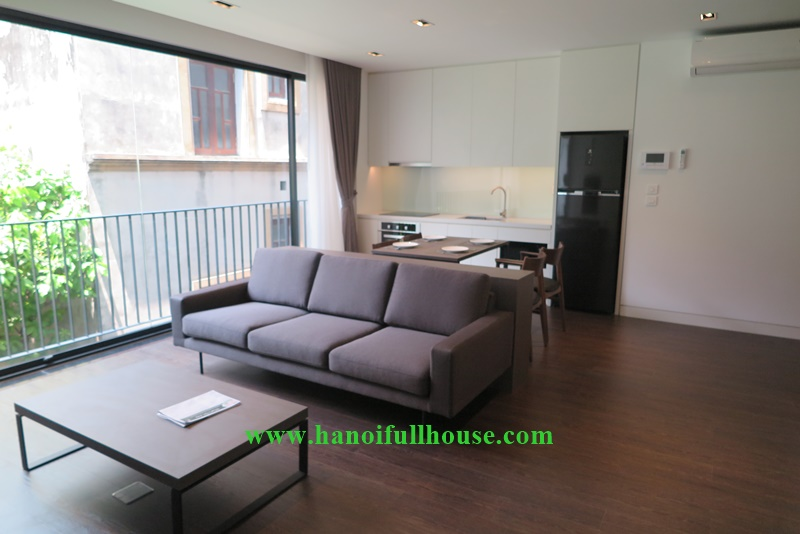 Brand new 02 bedrooms, high quanlity furniture, plenty of light on To Ngoc Van street for rent