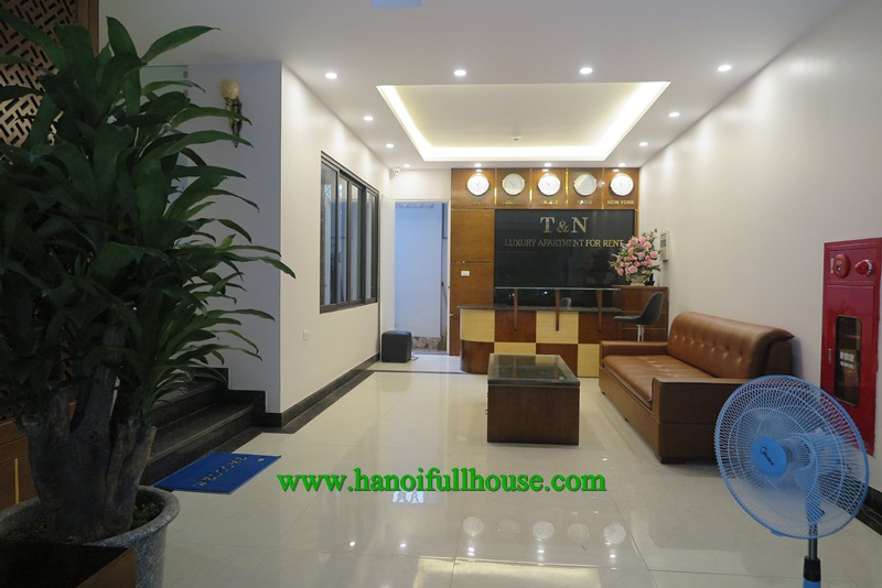 Great studio apartment in Linh Lang street with luxury furnished and equipped.