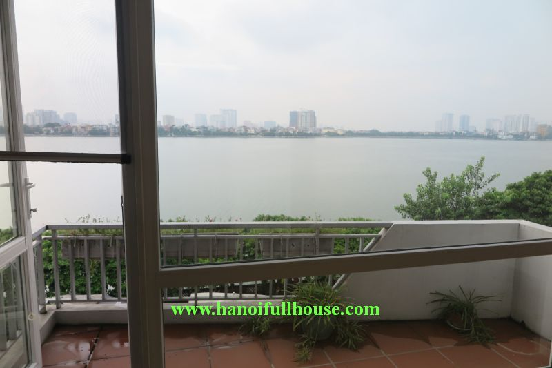 House in Dang Thai Mai for rent, garage, Lake view, 4 bedrooms .