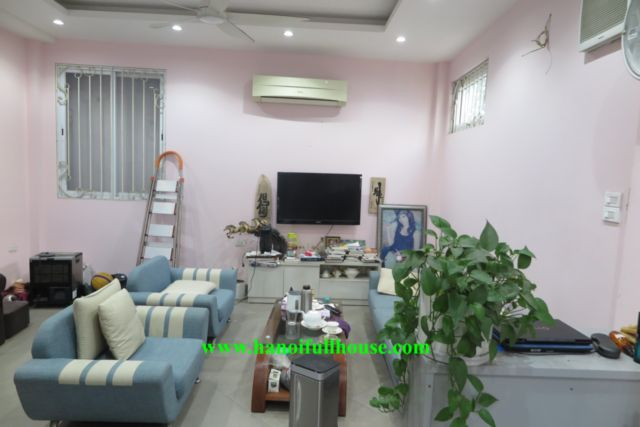 House in Hanoi for rent, 5 bedrooms with elevator, modern furniture