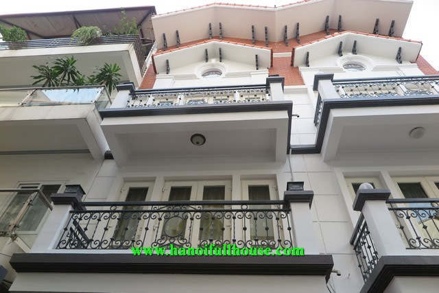 Cozy house on Dang Thai Mai street with big yard, large bedrooms, nice terrace for rent.