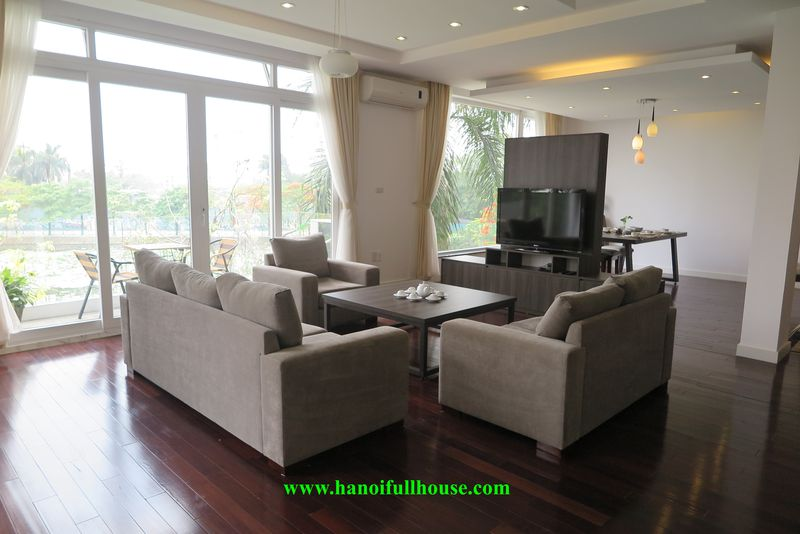 04 bedrooms apartment with lake view for a expats family in Tay Ho.