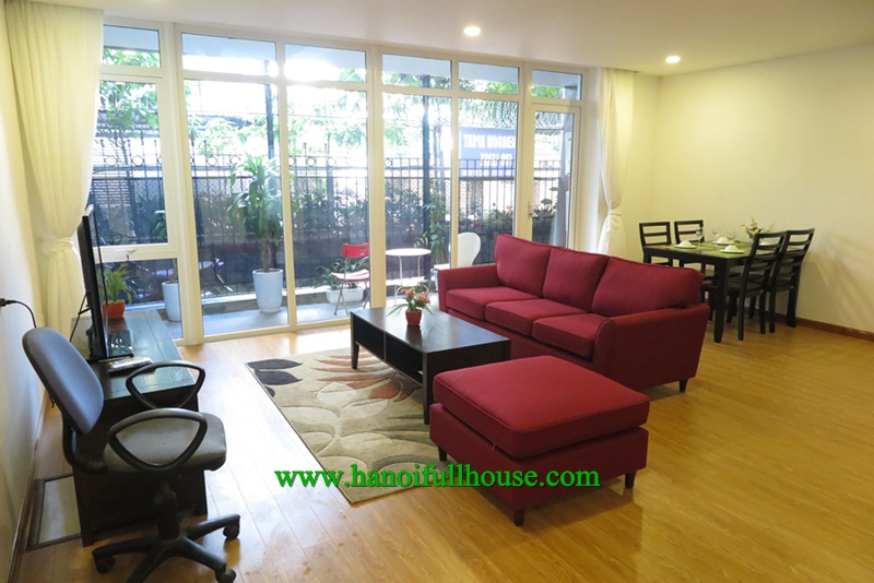 An amazing apartment with 1 bedroom, 2 bathroom, near West lake for rent now