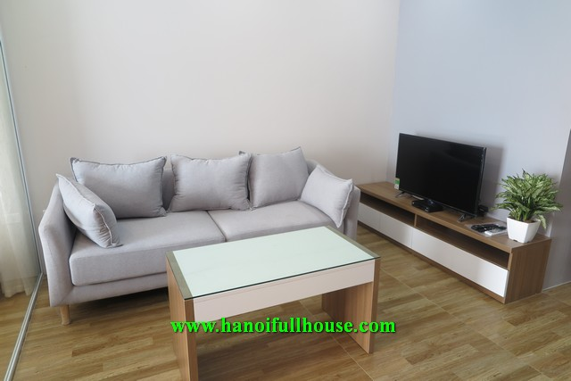 Lovely studio apartment for  rent on Xuan Dieu street.