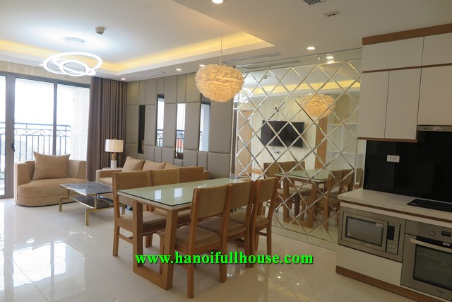 3 bedroom apartment in D '. Le Roi Soleil - Tan Hoang Minh Quang An for rent.