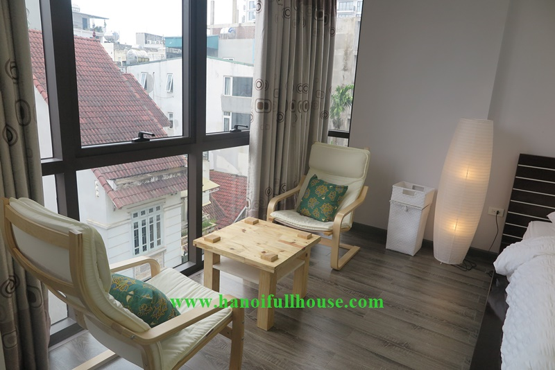 Luxury interior, 01 bedroom in Tayho, laundry service included