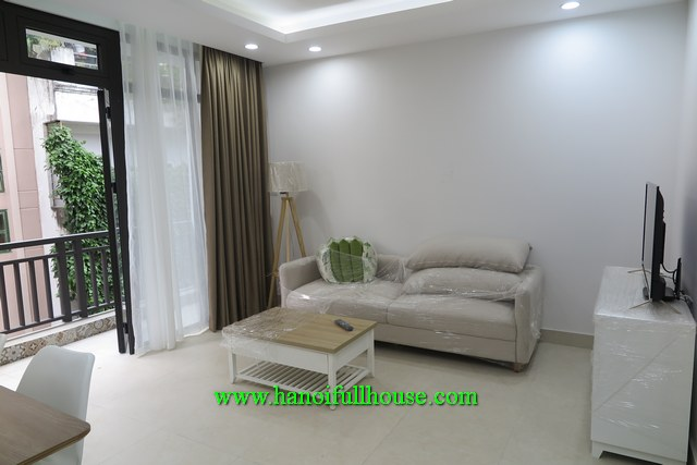 Newly furnished 2-bedroom apartment for rent in Tay Ho