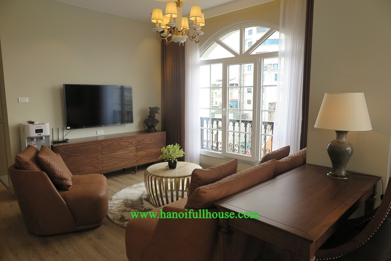 Serviced apartment building for Japanese to rent in Hai Ba Trung dist