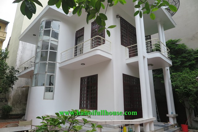 Garden house on To Ngoc Van with 3 bedrooms, nice decoration, big balconies for rent.