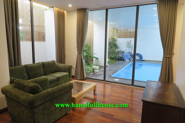 Lovely apartment on Tay Ho street, great design and decor, 2 bedrooms with en suite bathroom.