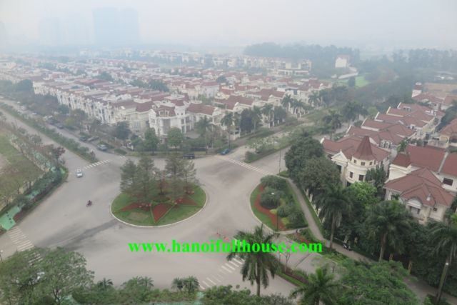 Large 3 bedrooms apartment in Ciputra with fully furnished, high floor.