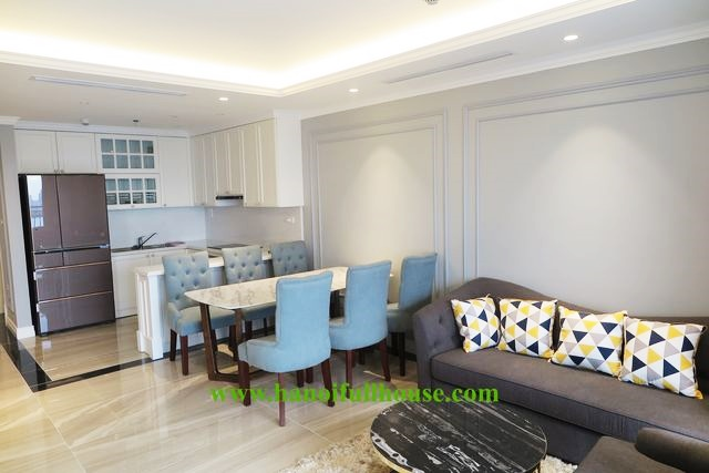 2 bedroom apartment with Lake view on high floor for rent in Tan Hoang Minh - Xuan Dieu - D.'Le Roi Soleil