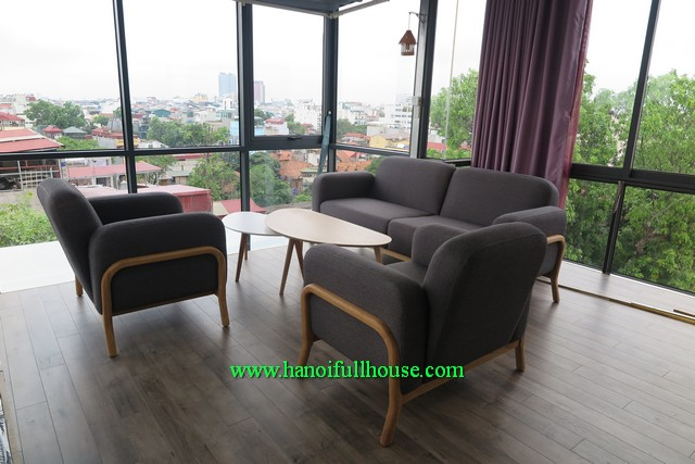 A duplex apartment in Hanoi Center for lease. Luxury furnishings, great view, large space