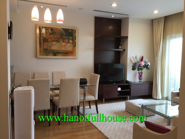 Find a modern apartment for rent in Ba Dinh, Ha Noi