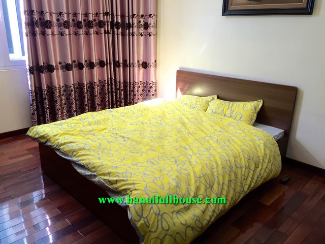 Hoan Kiem house with three bedroom, quiet place, fully furnished