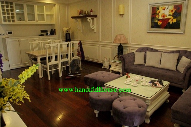 Apartment three bedroom in Royal City-Hanoi for rent