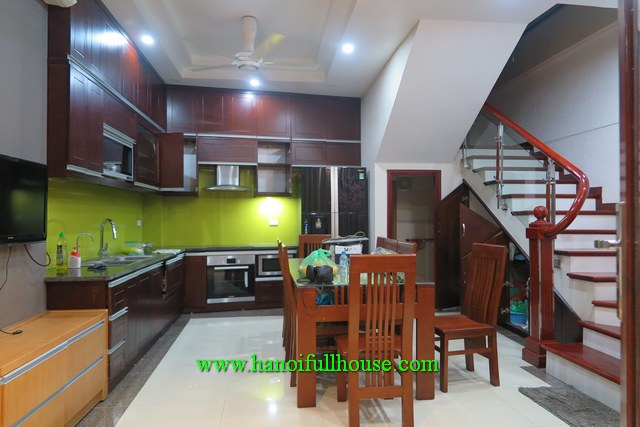 Wow! A very good 6-bedroom house in Hoang Cau str,  Dong Da dist for rent