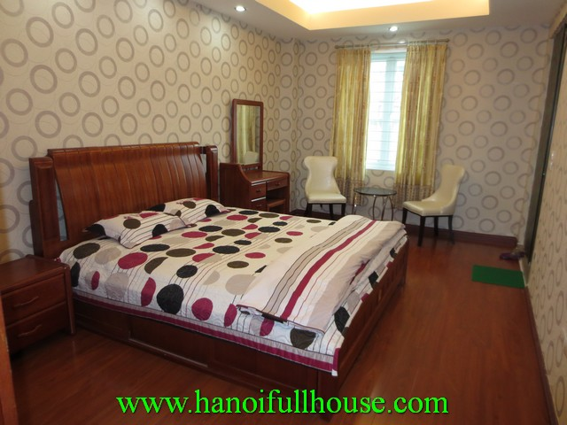 Fully furnished 3 bedroom serviced apartment for rent in Ba dinh dist, Hanoi, Vietnam