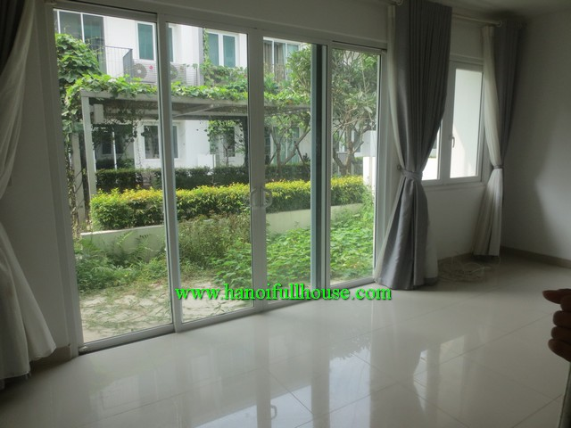 Brand new house in Parkcity-Hanoi for rent, 4 bedroom, courtyard, terrace and peace