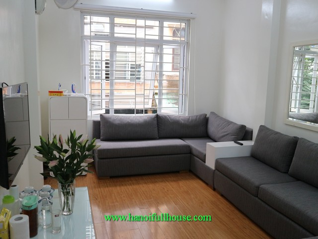 7 bedroom furnished house in Ba Dinh to lease. Car access, quiet and good security