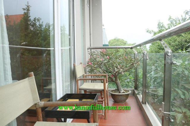 2BRS 2BATHS Beautiful, bright serviced apartment with a big balcony in Tay Ho for lease