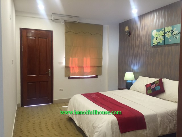 Modernly furnished 02 bedroom serviced apartment in Hoang Ngan street, Cau Giay