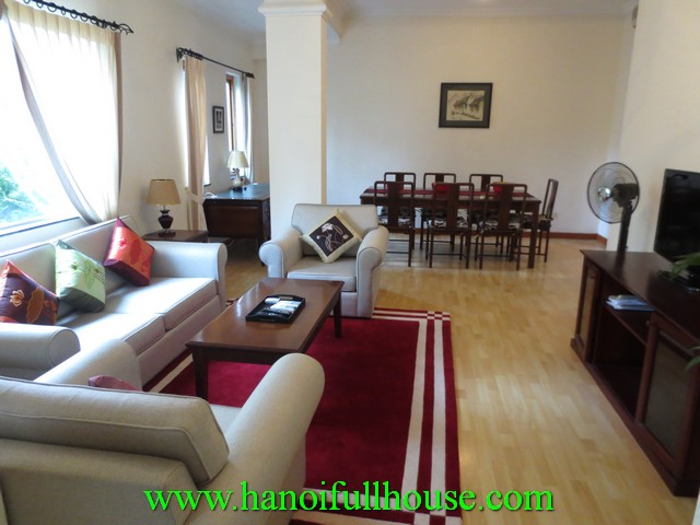 2 bedroom, fully furnished beautiful serviced apartment for rent in Hai Ba Trung dist, Hanoi