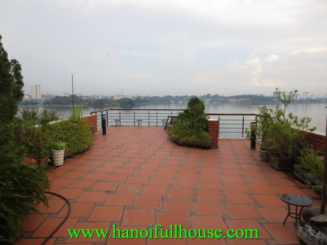 West lake studio serviced apartment for rent in Yen Phu Village, Tay Ho dist, Hanoi