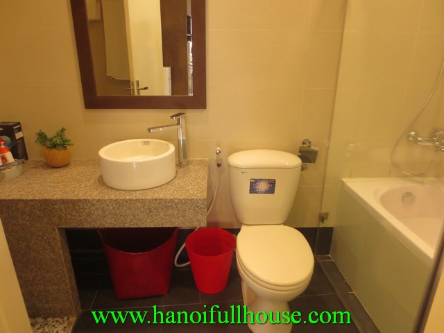 Nice serviced apartment for Japanese rent in Kim Ma street, Ba Dinh dist, Ha Noi